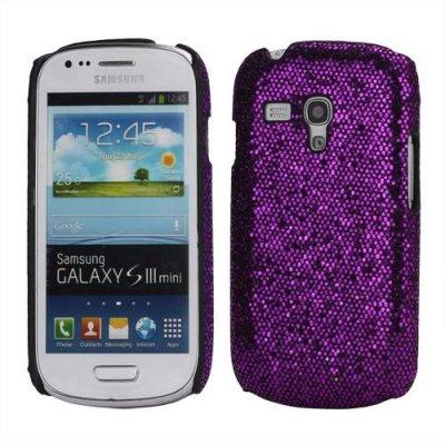Skal Samsung Galaxy S3 mini lila glitter