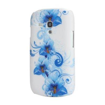 Skal Samsung Galaxy S3 mini Blå kronblad