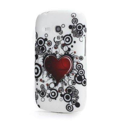 Skal Samsung Galaxy S3 mini rött hjärta