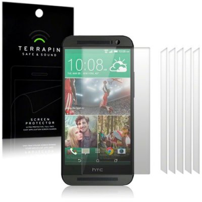 Displayskydd till HTC One M8 - 6-pack