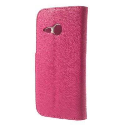 Plånboksfodral till HTC One Mini 2 Rosa