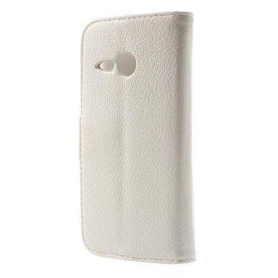 Plånboksfodral till HTC One Mini 2 Vit