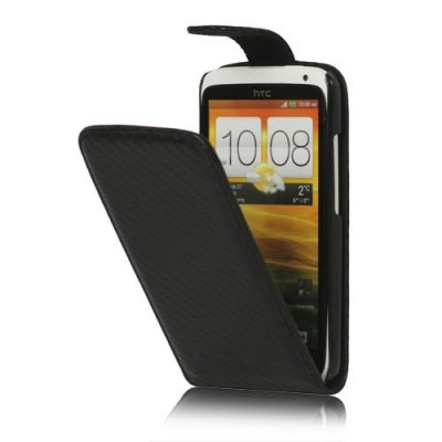 Fodral till HTC ONE X i svart färg