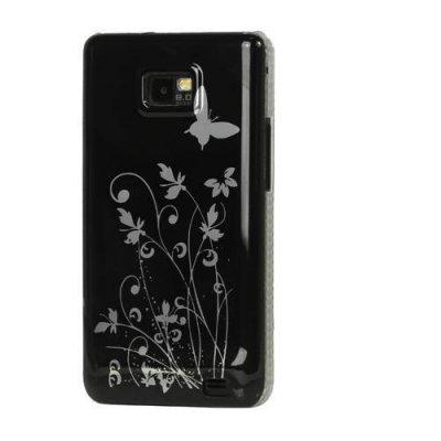 Skal Samsung Galaxy S2 Butterfly Flower