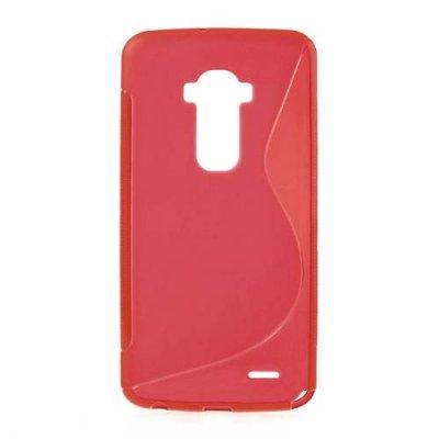 Flexibelt Skal S-Design till LG G Flex Röd