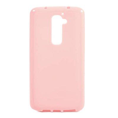 Flexibelt Skal LG G2 Rosa
