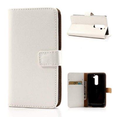 Plånboksfodral till LG G2 Vit