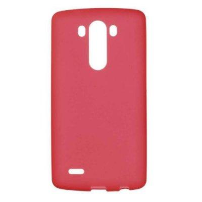 Skal till LG G3 TPU Röd