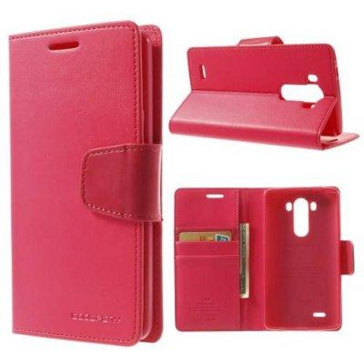Plånboksfodral Mercury Sonata Diary till LG G3 D850/D855 Röd
