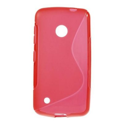 Flexibelt Skal S-Design till Nokia Lumia 530 Röd