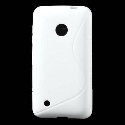 Flexibelt Skal S-Design till Nokia Lumia 530 Vit