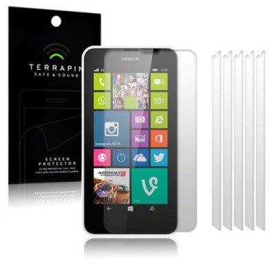 Skärmskydd/Displayskydd till Nokia Lumia 630 & 635 - 6-pack