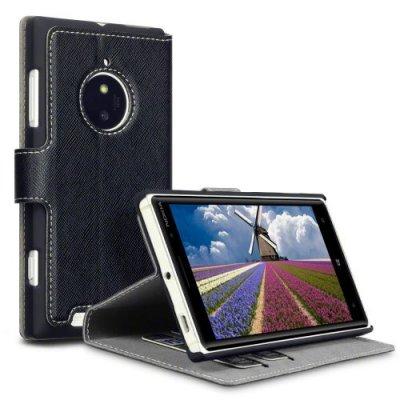 Nokia Lumia 830 Slim fodral Premium Svart