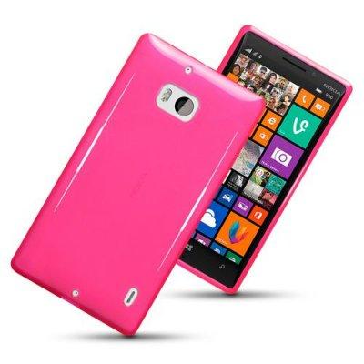 Flexibelt Skal till Nokia Lumia 930 Rosa