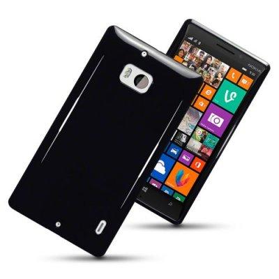 Flexibelt Skal till Nokia Lumia 930 Svart