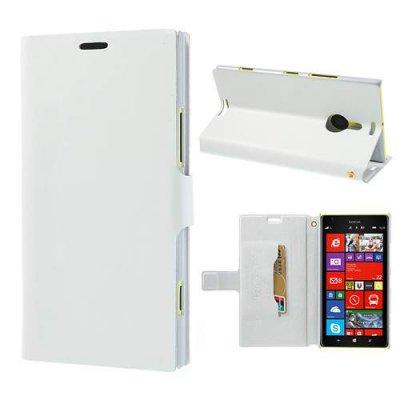 Doormoon Läderfodral till Nokia Lumia 1520 Vit