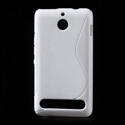 Flexibelt Skal S-Design till Sony Xperia E1 Vit