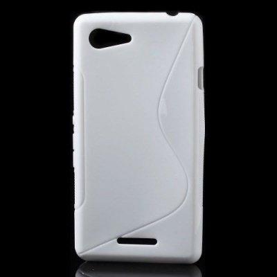 Flexibelt Skal S-Design till Sony Xperia E3 Vit