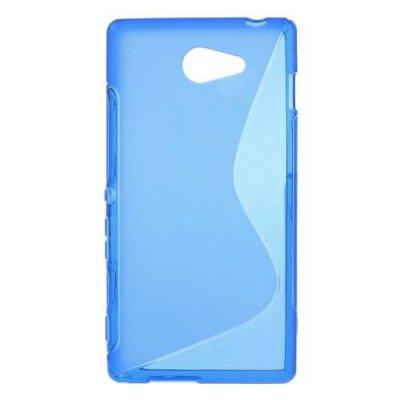Flexibelt Skal S-Design till Sony Xperia M2 Blå