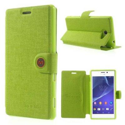 Fodral MLT till Sony Xperia M2 Grön