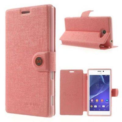 Fodral MLT till Sony Xperia M2 Rosa