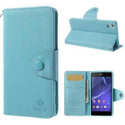 MLT Plånboksfodral till Sony Xperia Z2 Blå