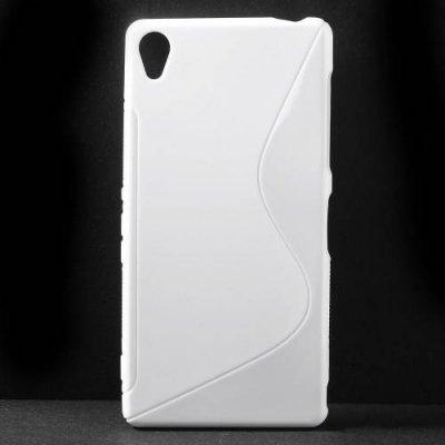 Flexibelt Skal S-Design till Sony Xperia Z3 Vit