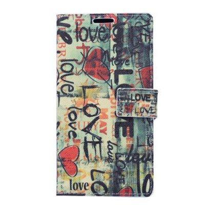 Fodral till Sony Xperia Z3 Love Graffiti - 2st kortplatser