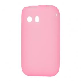 Skal till Samsung Galaxy Y Silikon Rosa