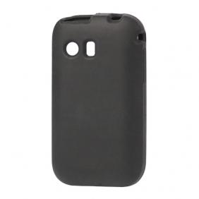 Skal till Samsung Galaxy Y Silikon Svart