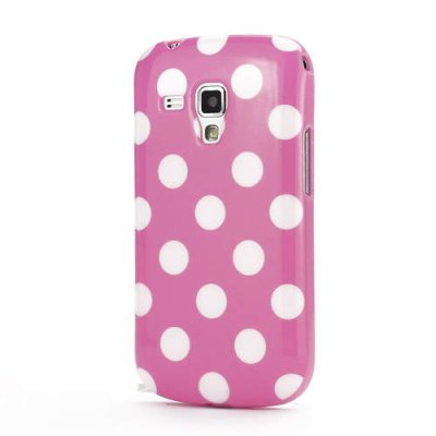 Skal till Samsung Galaxy Trend S7560/S7562 vita prickar