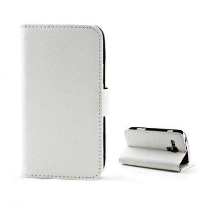 Plånboksfodral till Samsung Galaxy Trend S7560/S7562 Vit