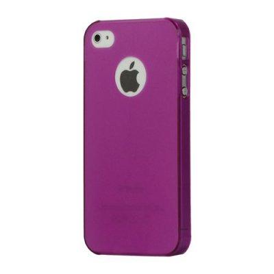 Tunn skal till iPhone 4 4s i lila färg