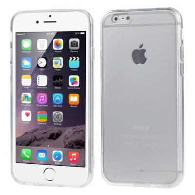 Flexibelt Slim Skal till Apple iPhone 6 Transparant