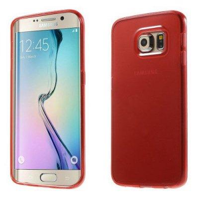 Skal gel case till Samsung Galaxy S6 Edge Röd