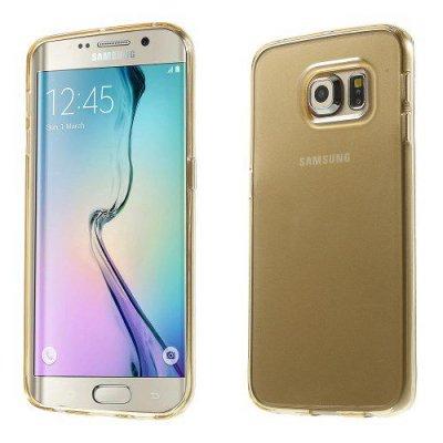 Skal gel case till Samsung Galaxy S6 Edge Champagne