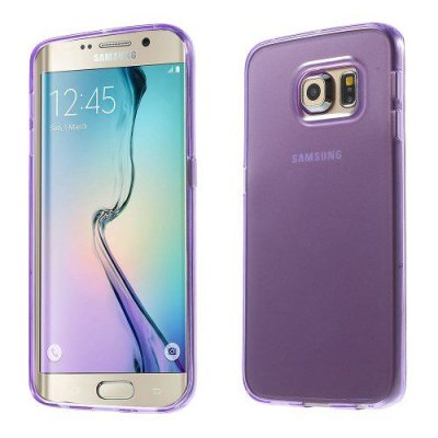 Skal gel case till Samsung Galaxy S6 Edge Lila