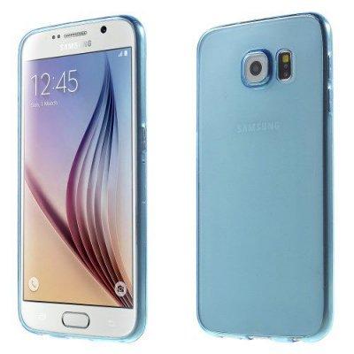 Flexibelt Slim Skal till Samsung Galaxy S6 Blå