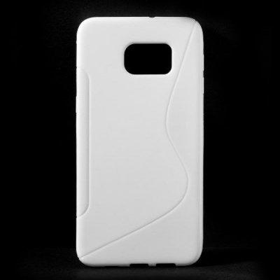 Flexibelt Skal S-Design till Samsung Galaxy S6 Edge Plus Vit