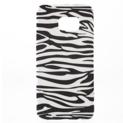 Flexibelt Skal till Samsung Galaxy S6 Edge Plus Zebra