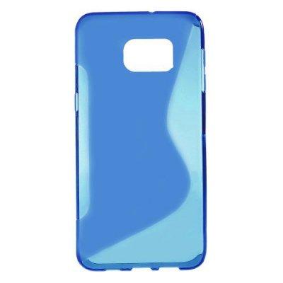Flexibelt Skal S-Design till Samsung Galaxy S6 Edge Plus Blå