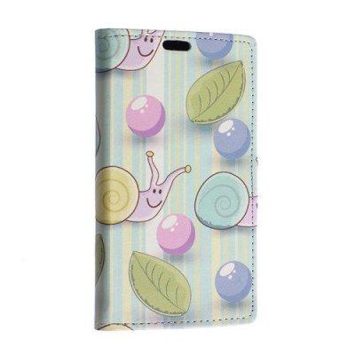 Plånboksfodral till Sony Xperia E4g Sniglar och ballonger