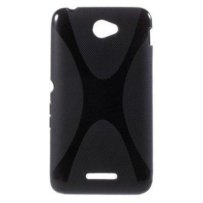 Flexibelt Skal X-Design till Sony Xperia E4 Svart
