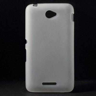 Flexibelt Skal till Sony Xperia E4 Vit