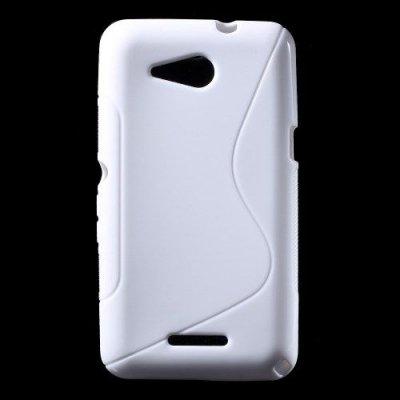 Flexibelt Skal S-Design till Sony Xperia E4g Vit