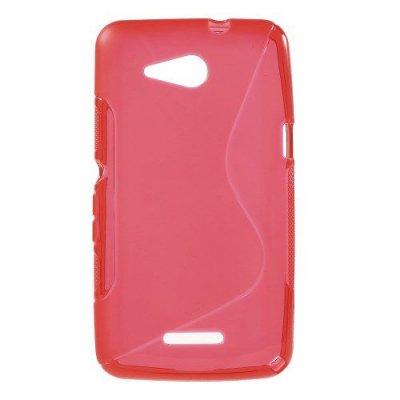 Flexibelt Skal S-Design till Sony Xperia E4g Röd