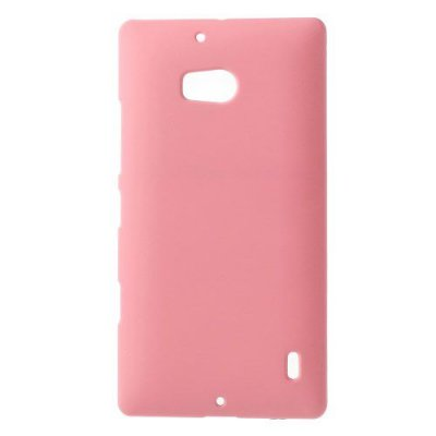 Hårt Skal Nokia Lumia 930 Rosa med gummiyta för bättre grepp
