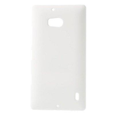 Hårt Skal Nokia Lumia 930 Vit med gummiyta för bättre grepp