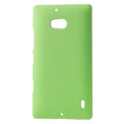 Hårt Skal Nokia Lumia 930 Grön med gummiyta för bättre grepp