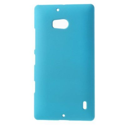 Hårt Skal Nokia Lumia 930 Blå med gummiyta för bättre grepp